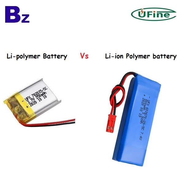 Comparison of lithium polymer battery and lithium-ion polymer battery