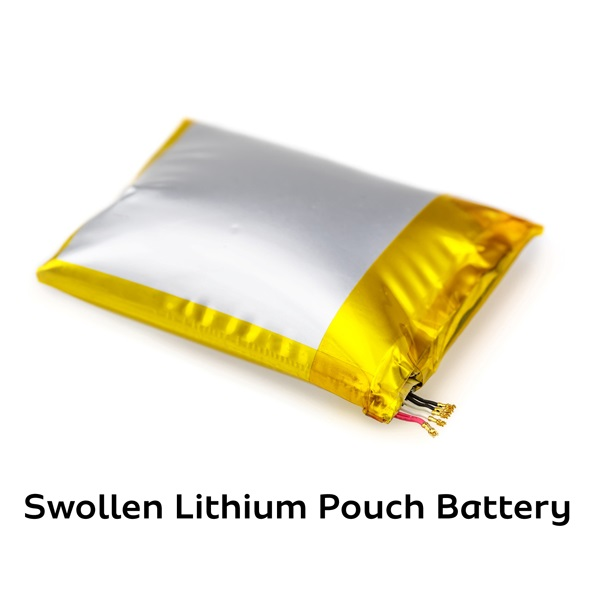 causes of lithium batteries swelling