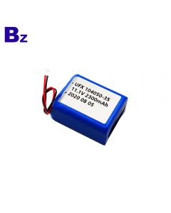ShenZhen Hot Sale For Electrical Tools Lipo Battery UFX 104050-3S 2300mAh 11.1V Li-Polymer Battery