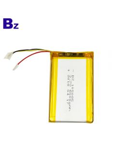 China Lithium Cells Factory Customized UL Certification Lithium Battery for Bluetooth Receiver Device BZ 105085 5000mAh 3.7V LiPo Battery