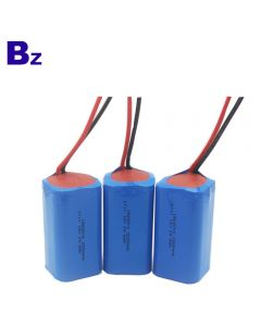 Best Lithium Battery Manufacturer OEM Cylindrical Battery BZ 18650 4S 2000mAh 14.8V Rechargeable Li-ion Battery