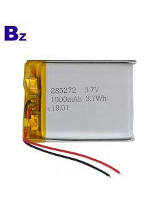 Shenzhen Best Quality For Handle Lighting Lipo Battery BZ 285272 1000mAh 3.7V Li-Polymer Battery With UL Certification