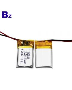 China KC Certification Li-polymer Battery Manufacturer Wholesale Battery for Smart Wearable Device BZ 301525 80mAh 3.7V Lipo Battery