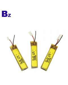 China Lithium Battery Supplier Customized Battery for LED Bike Light BZ 350937 95mAh 3.7V Rechargeable Li-Polymer Battery