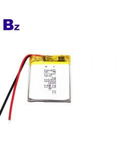 Deep Cycle Small Speaker Lipo Battery UFX 353035 3.7V 320mAh Li-Polymer Battery