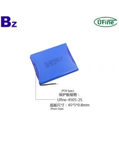 Wholesale Lithium Ion Polymer Battery For Electric Toy UFX 355264 2S1P 7.4V 1250mAh 3C Discharge Battery Pack