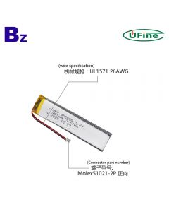 Made in China Best Price Wireless Keyboard Lipo Battery UFX 452080 950mAh 3.8V Lithium Polymer Battery