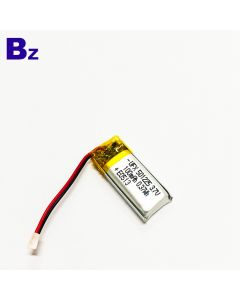High Quality Lipo Battery For Electric Toothbrush UFX 501225 100mAh 3.7V Li-Polymer Battery With Wire And Plug