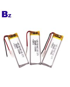 Chinese Best Lithium Battery Factory Customized Battery for RC Toys BZ 501447 10C 3.7V 280mAh Lipo Battery