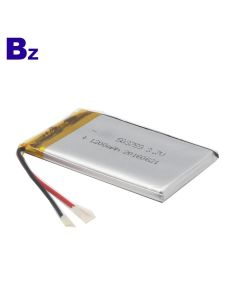 KC Certification Lithium Battery Supplier Customized Battery for Tracker Locator BZ 503759 1200mAh 3.7V Rechargeable LiPo Battery with UL Certificate