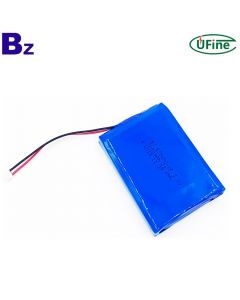 China Lithium Cell Manufacturer Produces Battery For Power Tools BZ 605080-2P 6000mAh 3.7V Li-Po Battery