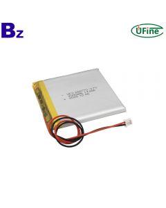 China Li-Polymer Cell Manufacturer Customized Smart Speaker Battery UFX 686770 3.7V 4000mAh Li-ion Polymer Battery