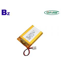 China Best Selling Small Lamp Battery UFX 702840 750mAh 3.7V Li-Polymer Battery