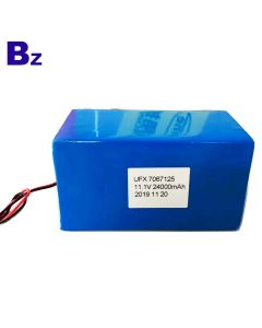 Factory Mass Supply Battery For Medical Equipment UFX 7067125 11.1V 24000mAh Li-Polymer Battery Packs