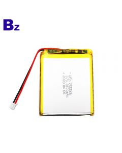 Factory Direct Supply for Robot Toy Battery UFX 755568 3600mAh 3.7V Li-Polymer Battery