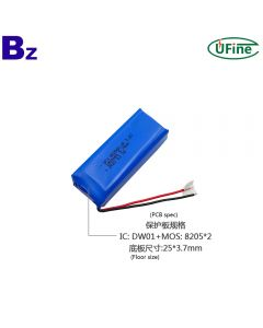 Chinese Lithium Cell Factory Direct sales Electric Torch LiFePO4 Battery UFX 802560-2P 3.2V 1800mAh Lithium Iron Phosphate Battery
