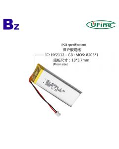 Top Selling Healthcare Device LiFePO4 Battery UFX 852560 900mAh 3.2V Lithium iron phosphate battery