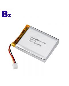 China Manufacturer OEM For Small Air Pump Battery BZ 124040 2000mAh 3.7V Li-Polymer Battery With KC Certification