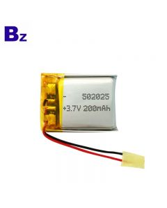 Cheapest For GPS Tracker Lipo Battery BZ 502025 200mAh 3.7V Lithium Polymer Battery With KC Certification