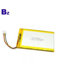 Hot Selling For Bluetooth Keyboard Lipo Battery BZ 405085 2000mAh 3.7V Lithium Polymer Battery With UL Certification