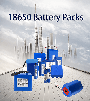 18650 batteries packs