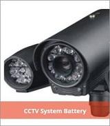 CCTV System Battery