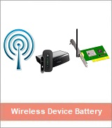 wireless device battery