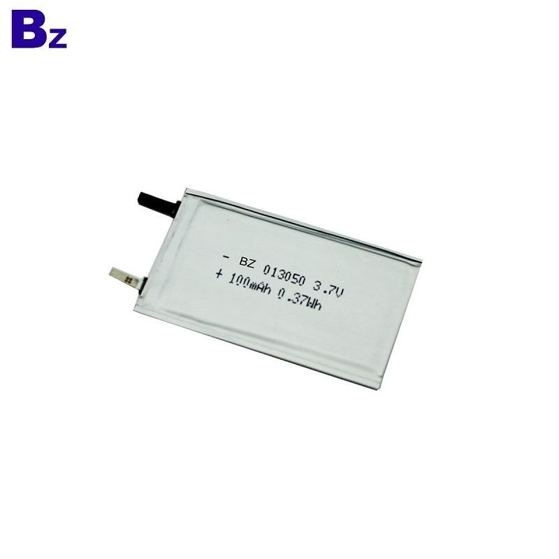 100mah 3.7V Ultra Thin Battery