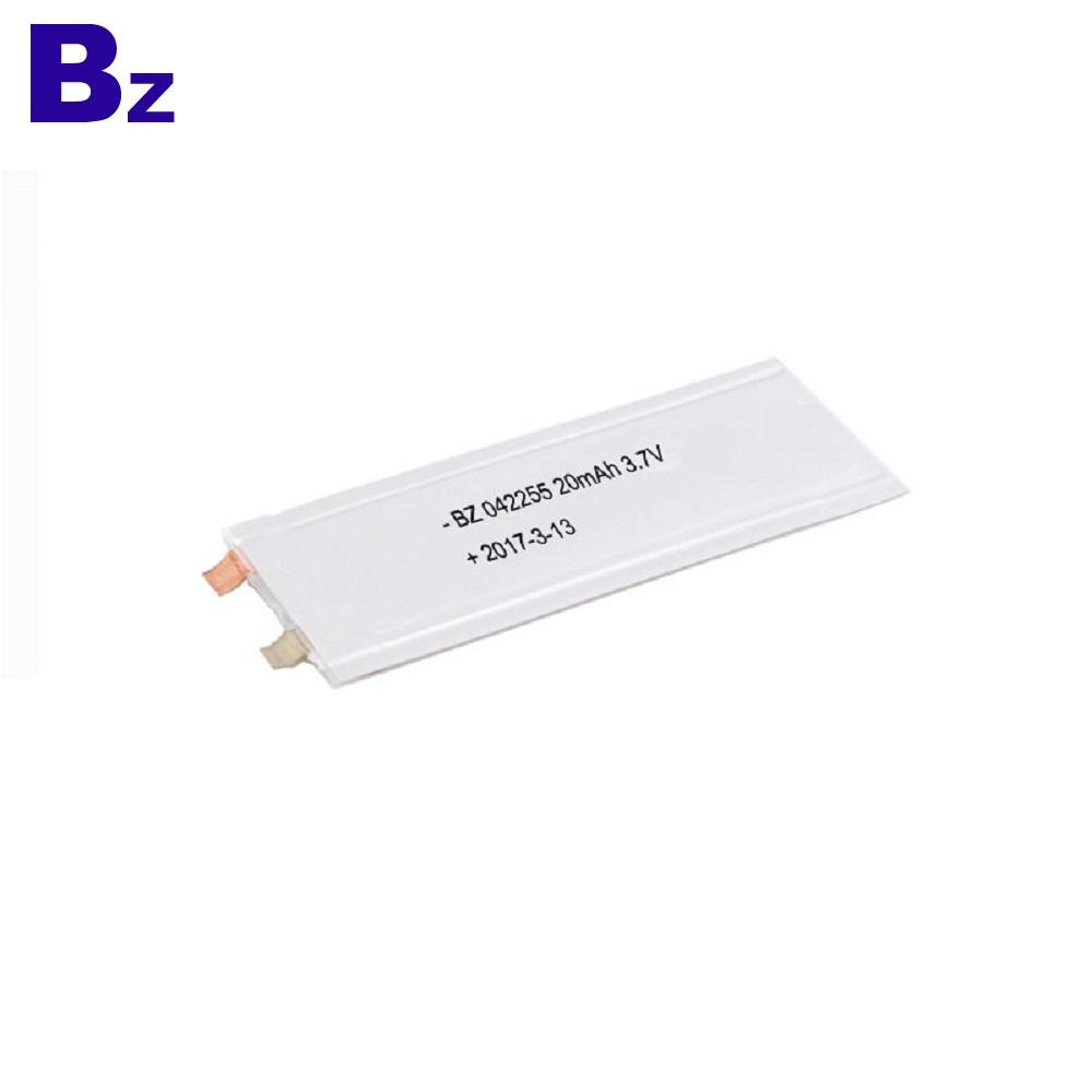 Super Thin Lipo Battery BZ 042255 20mAh 3.7V