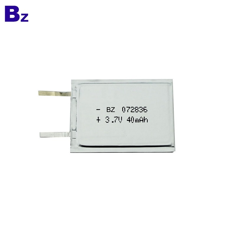 Lipo Battery for Intelligent Card 40mAh