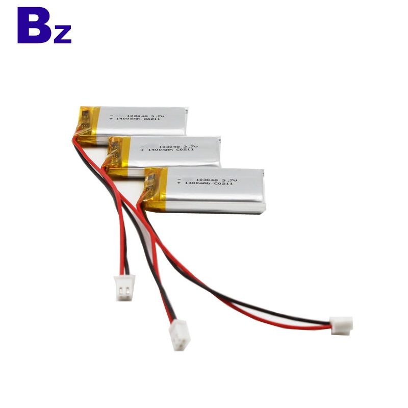 3.7V 1400mAh Li-ion Polymer Battery