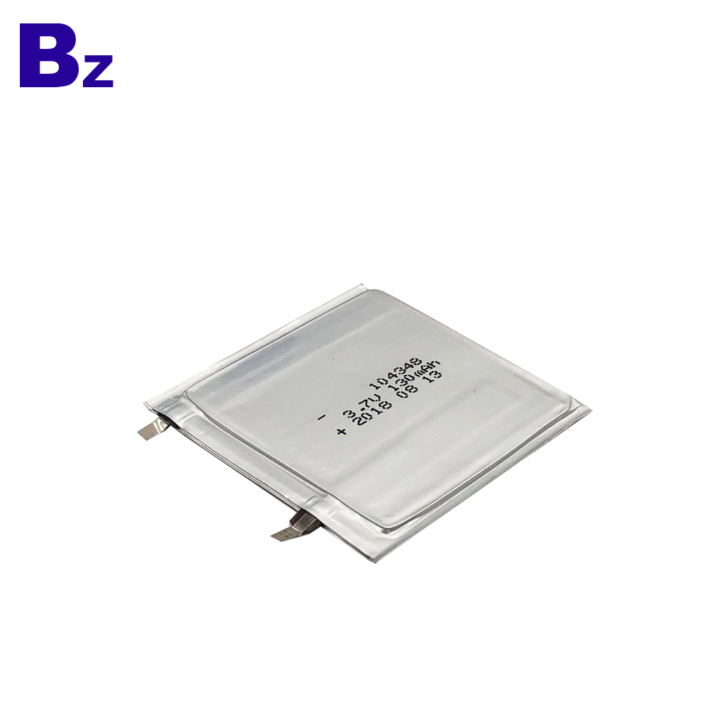 130mAh Thin Battery for Wearable Device