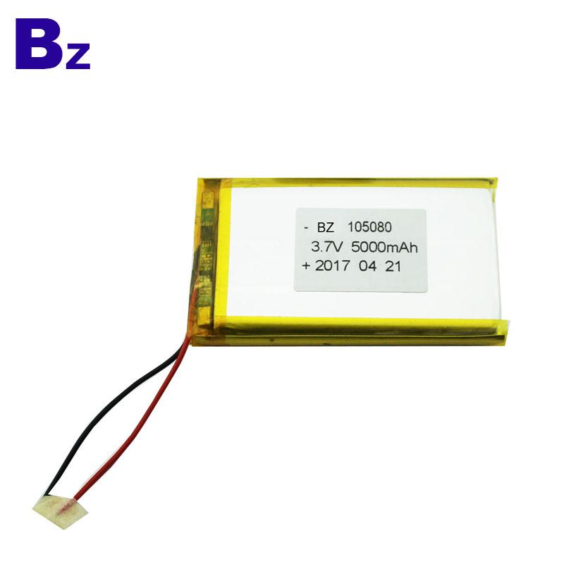 5000mah 3.7V Rechargeable Li-polymer Battery Pack
