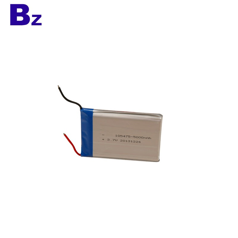 BZ 105475 5000mAh 3.7V Rechargeable Lithium Ion Battery
