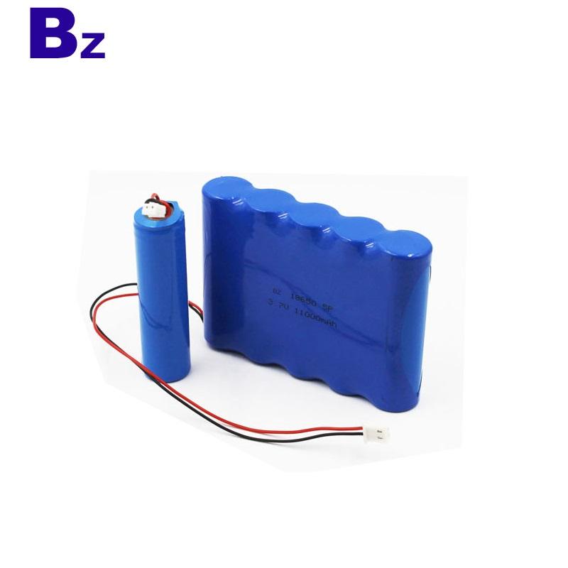 18650 5P 11000mAh 3.7V Lithium Ion Battery