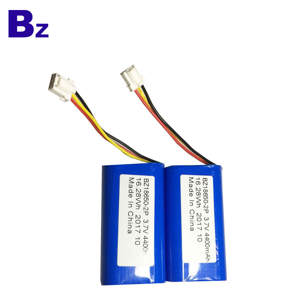 18650 2P Batteries 4400mAh 3.7V
