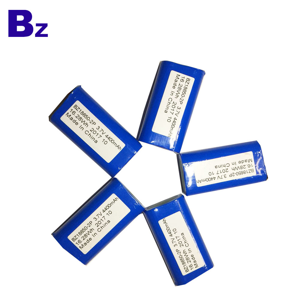 Best Lithium-ion Cells Supplier OEM 18650 Battery 4400mAh