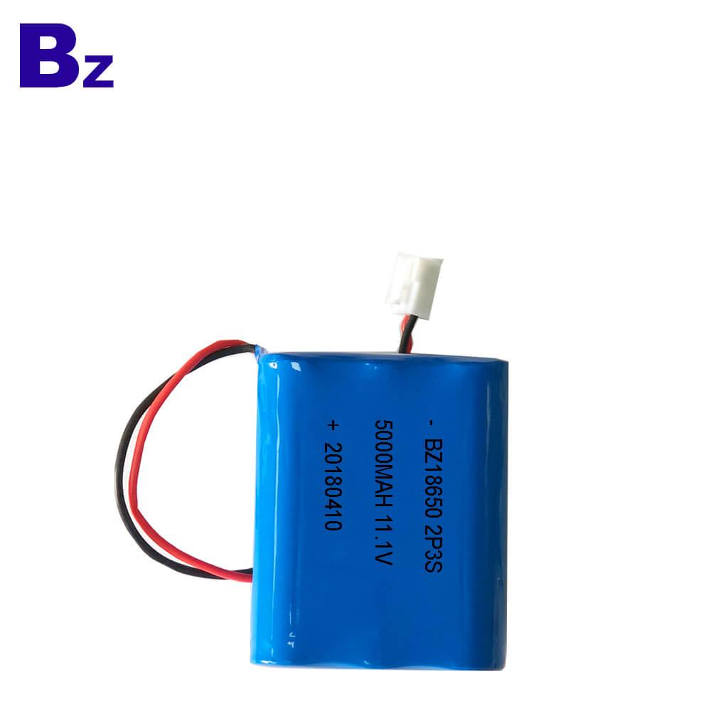 BZ 18650 2P3S 5000mAh 11.1V Li-ion Battery