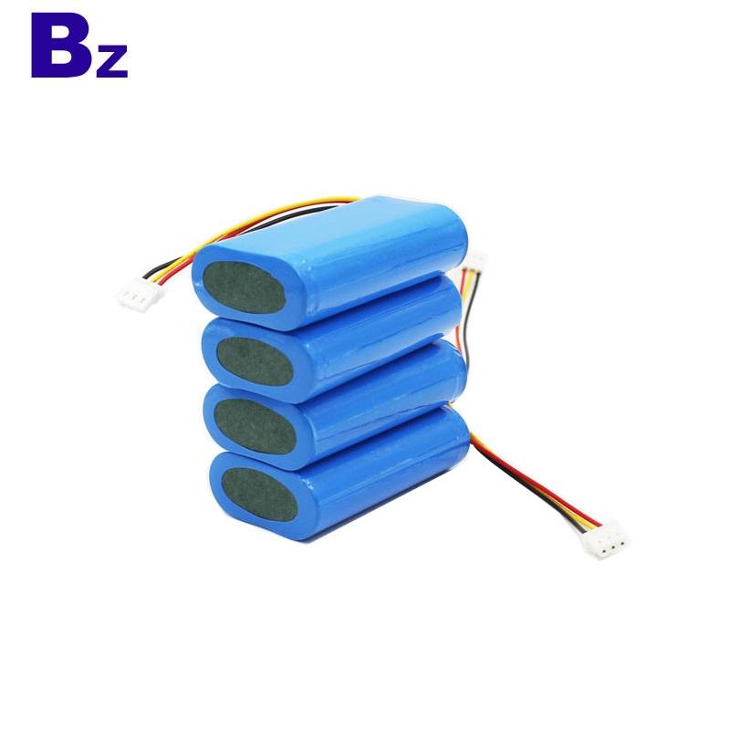 18650 2600mAh 7.4V Rechargeable Li-ion Battery