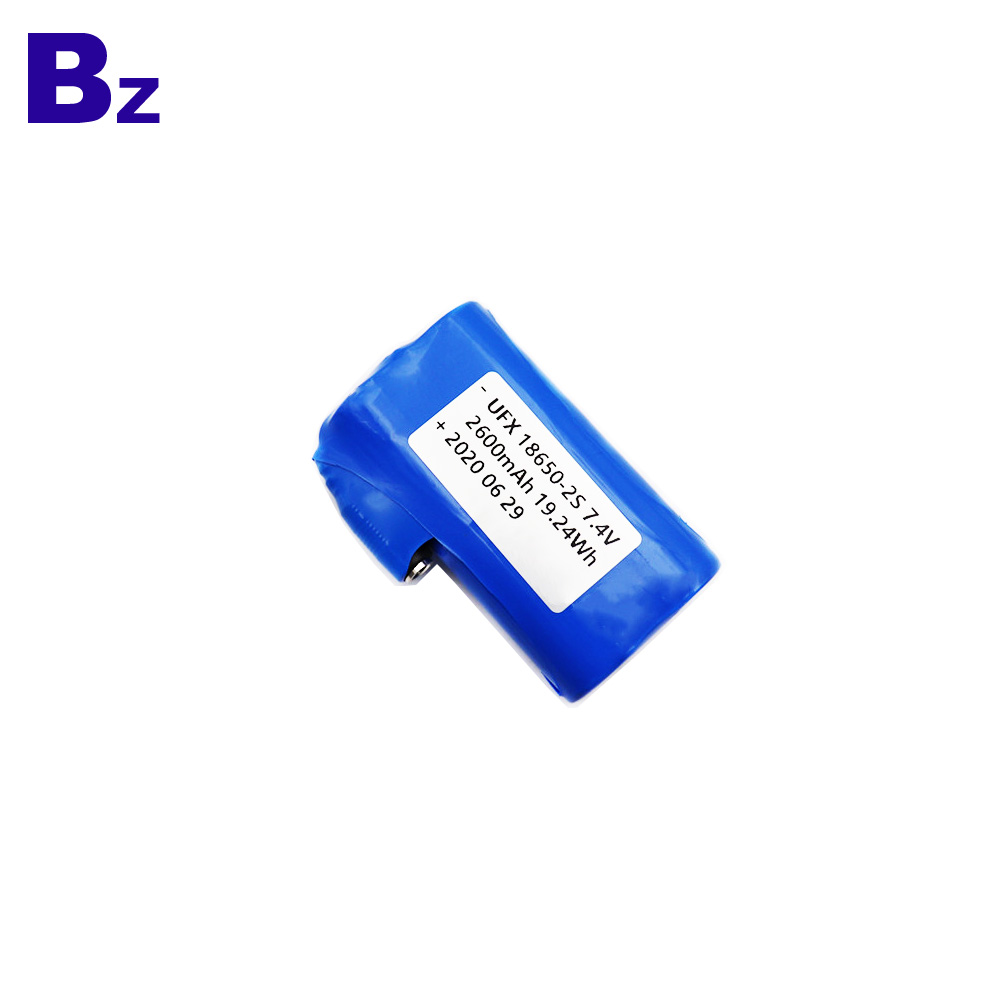 2600mAh Heated Belt Cylindrical Battery cell