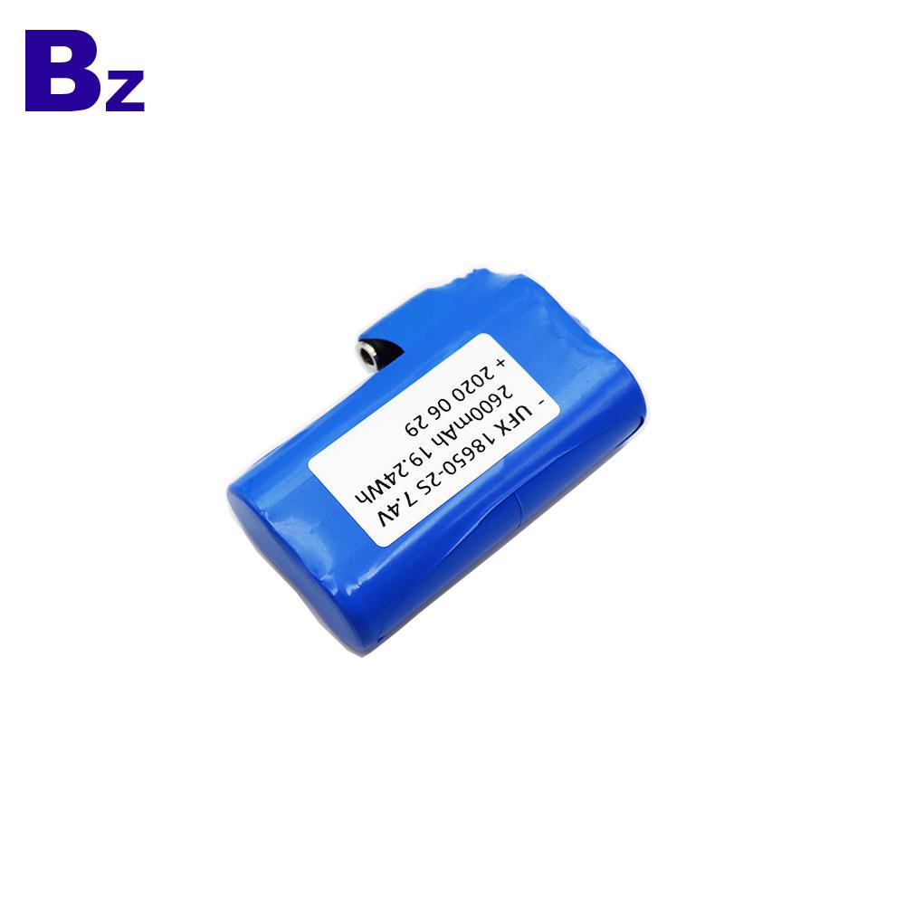 China Factory Supply 2600mAh Li-Ion Cylindrical Battery