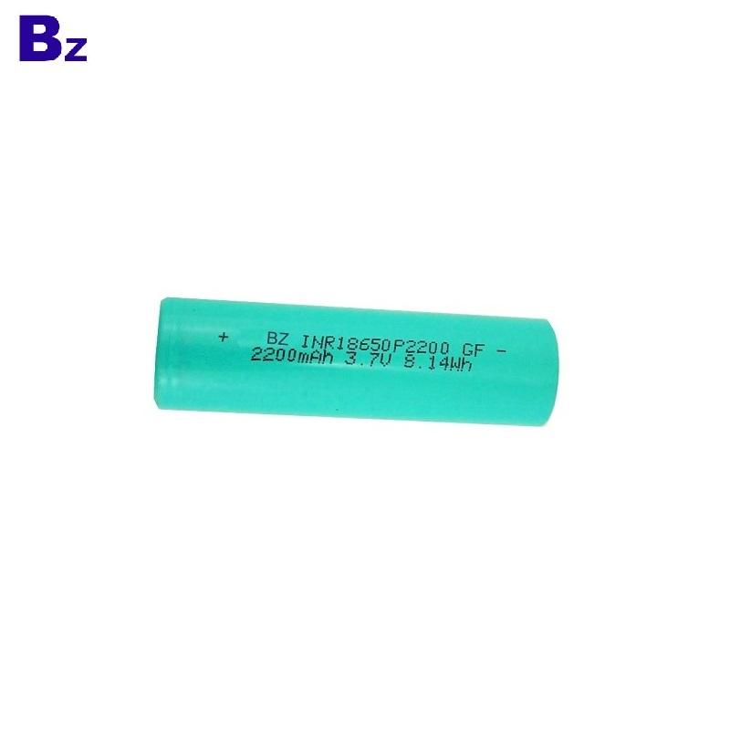 18650 2200mAh 3.7V 3C Li-ion Battery Cell