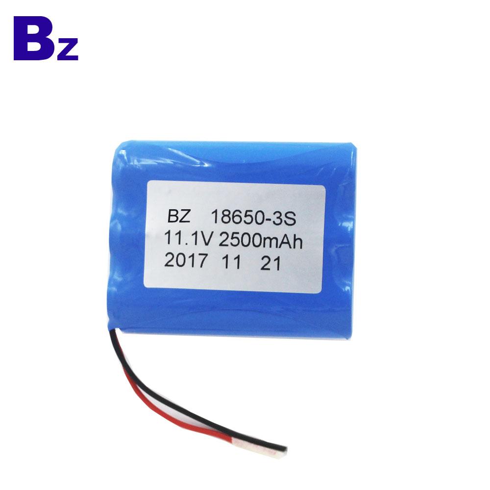 BZ 18650 3S 2500mAh 11.1V Li-ion Battery