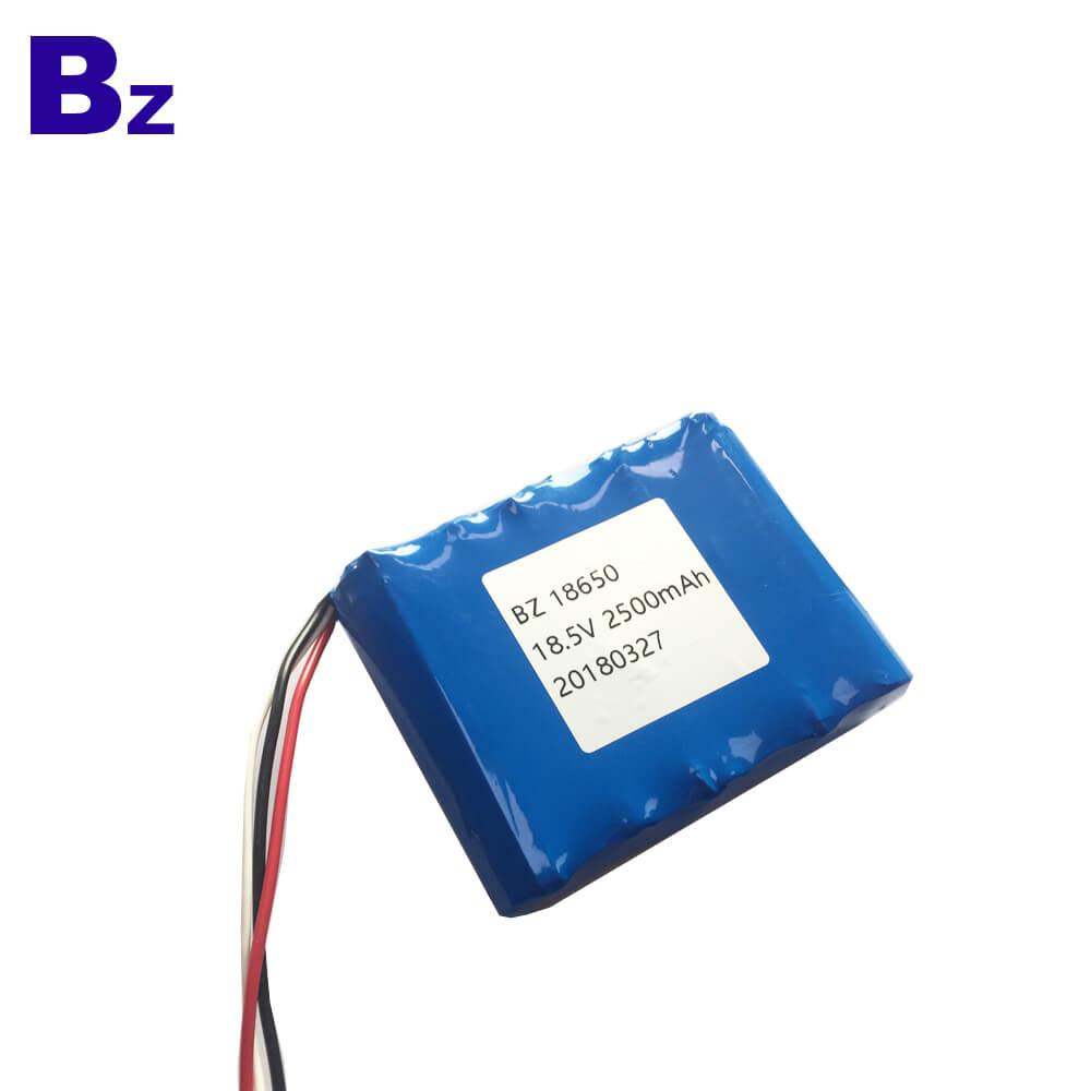 2500mAh 18.5V 5C Li-ion Battery for Sweeper Robot
