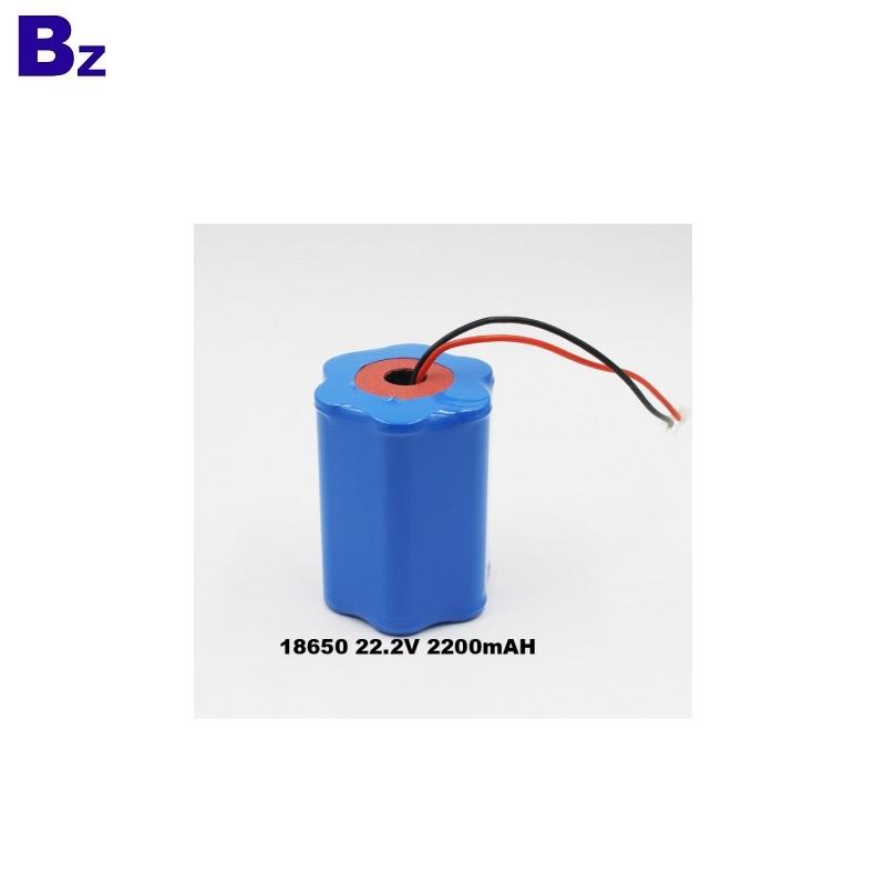 2200mAh 22.2V li-ion Battery