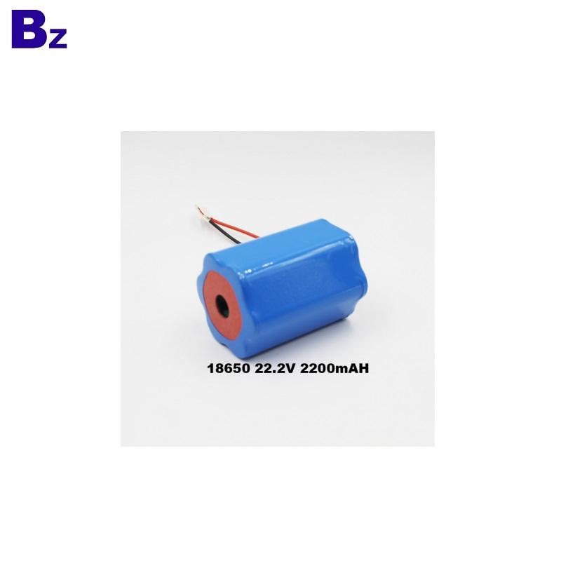 2200mAh 22.2V 18650 Battery