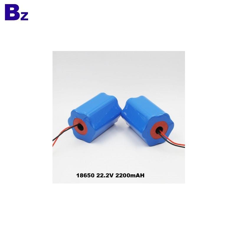 2200mAh 22.2V 18650 li-ion Battery