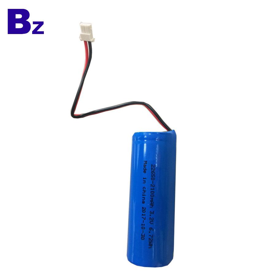22650 3.2V 2100mAh LiFePO4 Battery