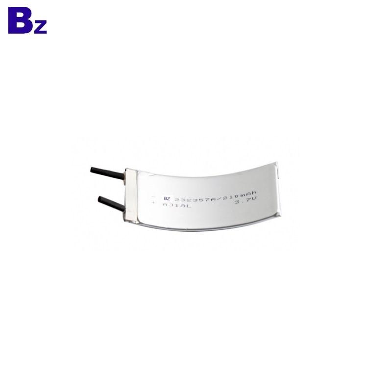 BZ 232357 3.7V 210mAh Li-Polymer Battery