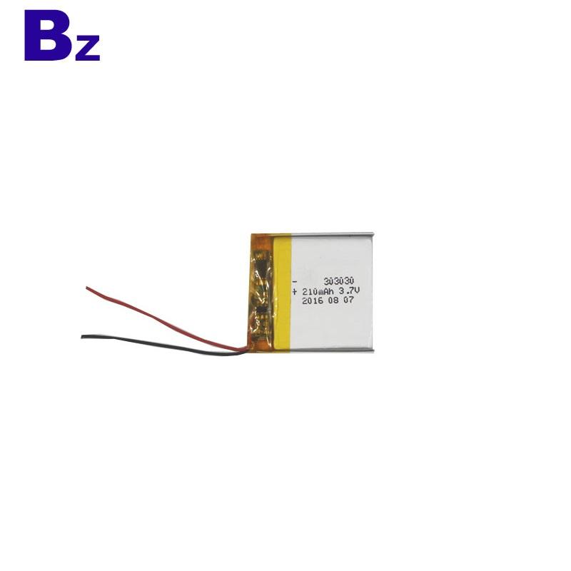 303030 3.7V 210mAh Lithium-ion Polymer Battery